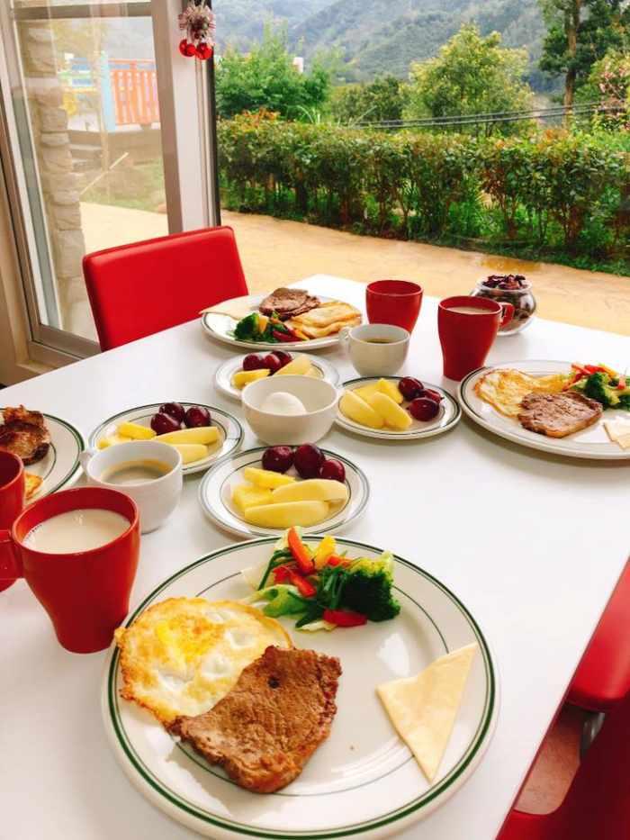加州莊園陽光早餐